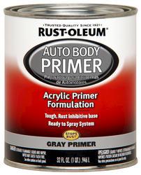 Rust-Oleum® Automotive Gray Low-VOC Acrylic Auto Body Primer - 1 qt