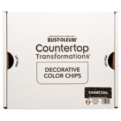 Rust-Oleum® Countertop Transformations Decorative Charcoal Color Chips Kit