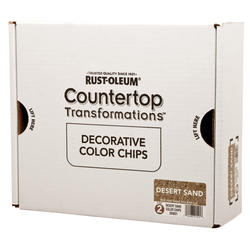 Rust-Oleum® Countertop Transformations Decorative Desert Sand Color Chips Kit