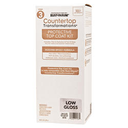 Rust-Oleum® Countertop Transformations Low-Gloss Protective Top Coat Kit
