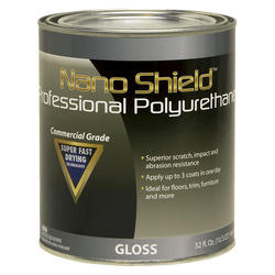 Nano Shield Professional Gloss Polyurethane - 1 qt