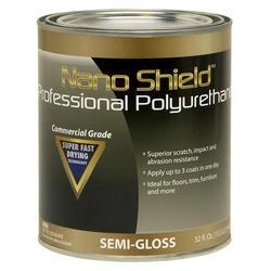 Nano Shield Professional Semi-Gloss Polyurethane - 1 qt