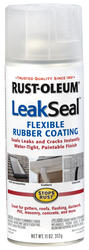 Rust-Oleum® LeakSeal Clear Flexible Rubber Coating Spray - 11 oz