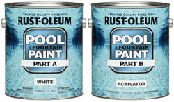 Rust-Oleum® High Performance White Epoxy Pool & Fountain Paint Kit - 2 gal.