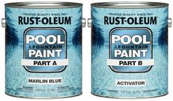 Rust-Oleum® High Performance Marlin Blue Epoxy Pool & Fountain Paint Kit - 2 gal.