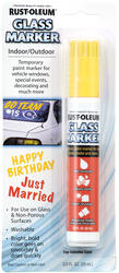 Rust-Oleum® Yellow Glass Marker