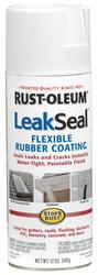 Rust-Oleum® LeakSeal White Flexible Rubber Coating Spray - 12 oz