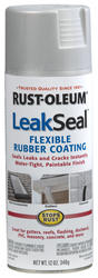 Rust-Oleum® LeakSeal Aluminum Flexible Rubber Coating Spray - 12 oz