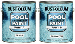 Rust-Oleum® High Performance Black Epoxy Pool & Fountain Paint Kit - 2 gal.