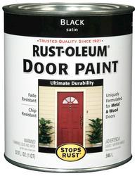 Rust-Oleum® Stops Rust® Black Door Paint - 1 qt