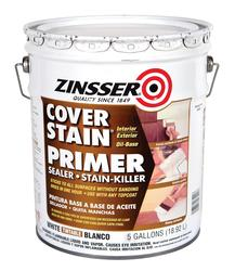 Zinsser® Cover-Stain White Oil-Base Primer - 5 gal.