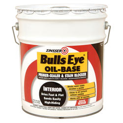 Zinsser® Bulls Eye Oil-Base Primer-Sealer and Stain Blocker - 5 gal.