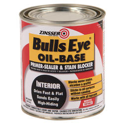 Zinsser® Bulls Eye Oil-Base Primer-Sealer and Stain Blocker - 1 qt