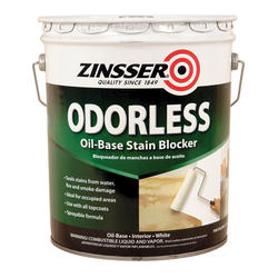Zinsser® Odorless Oil-Based Stain Blocker Primer - 5 gal.
