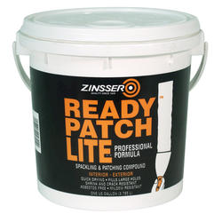 Zinsser® Ready Patch Lite Professional Spackling and Patching Compound - 1 gal.