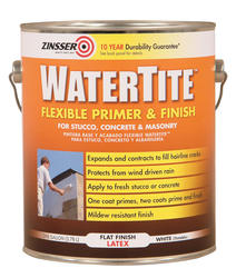 Zinsser® WaterTite Flat White Flexible Primer and Finish - 1 gal.