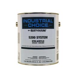 Industrial Choice 5200 System Gloss Black DTM Acrylic Enamel - 1 gal.