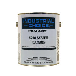 Industrial Choice 5200 System Semi-Gloss White DTM Acrylic Enamel - 5 gal.