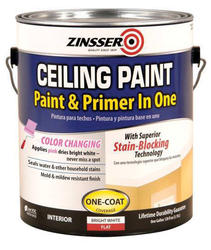 Zinsser® Flat Bright White Ceiling Paint and Primer - 1 gal.