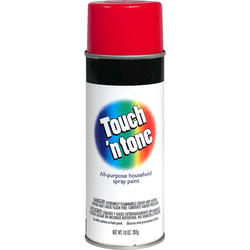 Touch 'n Tone Cherry Red All-Purpose Spray Paint - 10 oz