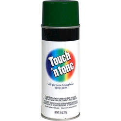 Touch 'n Tone Hunter Green All-Purpose Spray Paint - 10 oz