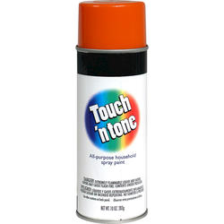 Touch 'n Tone Orange All-Purpose Spray Paint - 10 oz