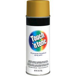 Touch 'n Tone Metallic Gold All-Purpose Spray Paint - 10 oz