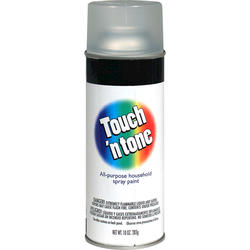 Touch 'n Tone Clear Acrylic All-Purpose Spray Paint - 10 oz