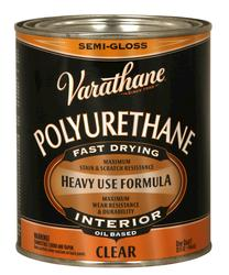 Varathane® Semi-Gloss Oil-Based Interior Polyurethane - 1 qt
