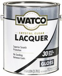 Watco Clear Gloss Lacquer Finish - 1 gal.