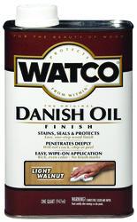 Watco Light Walnut Danish Oil Finish - 1 qt