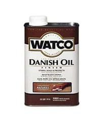 Watco Dark Walnut Danish Oil Finish - 1 qt