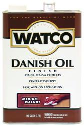Watco Medium Walnut Danish Oil Finish - 1 gal.