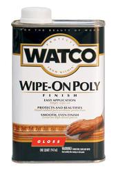 Watco Gloss Wipe-On Poly Finish - 1 qt