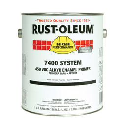 High Performance 7400 System Gray Alkyd Enamel Quick Dry Primer - 1 gal.
