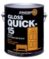 Zinsser® Quick-15 Clear Gloss Finish and Sealer - 1 gal.