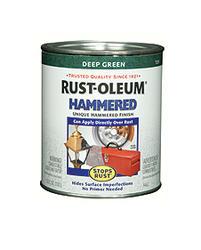 Rust-Oleum® Stops Rust® Hammered Deep Green Paint - 1 qt