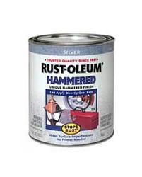 Rust-Oleum® Stops Rust® Hammered Silver Paint - 1 qt