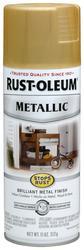 Rust-Oleum® Stops Rust® Metallic Gold Rush Spray Paint - 11 oz