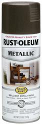 Rust-Oleum® Stops Rust® Metallic Dark Bronze Spray Paint - 11 oz
