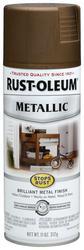 Rust-Oleum® Stops Rust® Metallic Antique Brass Spray Paint - 11 oz