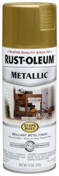 Rust-Oleum® Stops Rust® Metallic Burnished Brass Spray Paint - 11 oz