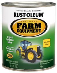 Rust-Oleum® Specialty John Deere Yellow Farm Equipment Paint - 1 qt