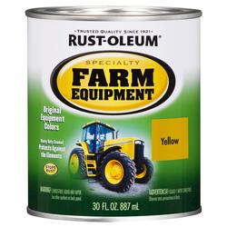 Rust-Oleum® Specialty Caterpillar Yellow Heavy-Duty Farm Equipment Enamel - 1 qt.