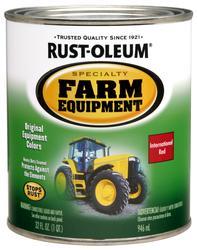 Rust-Oleum® Specialty International Red Farm Equipment Paint - 1 qt