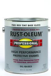 Rust-Oleum® Professional Gloss Red Tint Base High-Performance Enamel - 1 gal.