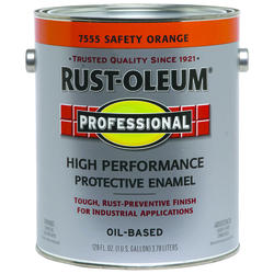 Rust-Oleum® Professional Safety Orange High-Performance Enamel - 1 gal.