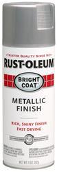 Rust-Oleum® Bright Coat Metallic Aluminum Finish Spray Paint - 11 oz