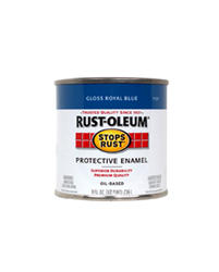 Rust-Oleum® Stops Rust® Gloss Royal Blue Protective Enamel - 1/2 pt
