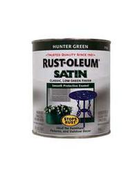 Rust-Oleum® Stops Rust® Satin Hunter Green Protective Enamel - 1 qt